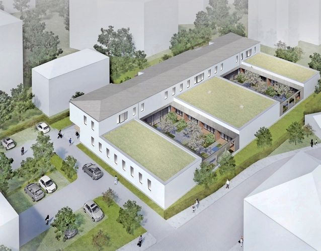 Architektur, Kempten, Allgäu, Brandschutzplanung