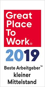 Great Place to Work kleiner Mittelstand 2019