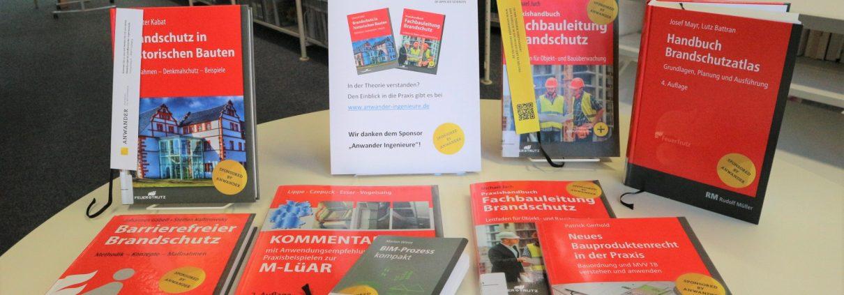 Buchsponsoring Hochschule Biberach
