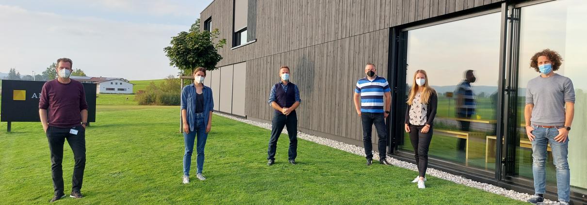 Das Projektteam im Gesundheitsmanagement-Projekt von DACHSER, Bosch BKK und ANWANDER